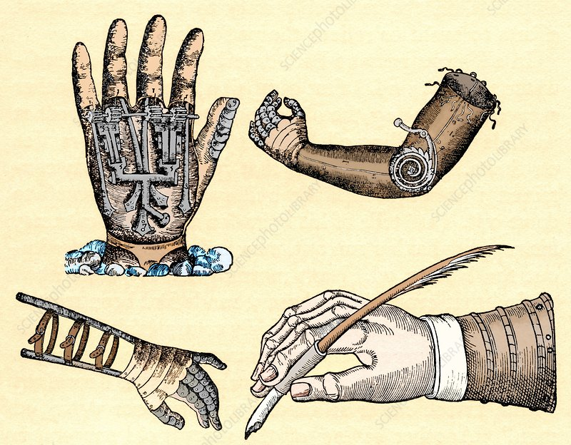 Pare and Prosthetics, illustration