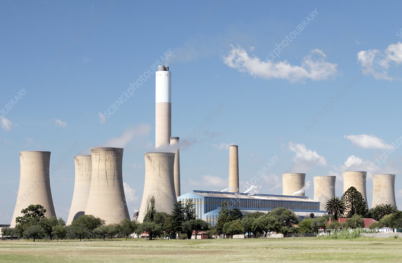 Hendrina Power Station, South Africa