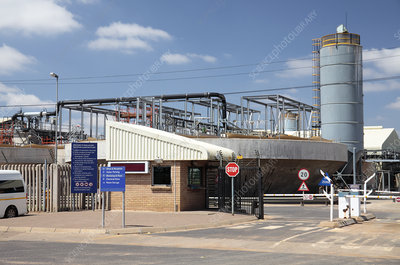 Water reclamation plant, South Africa