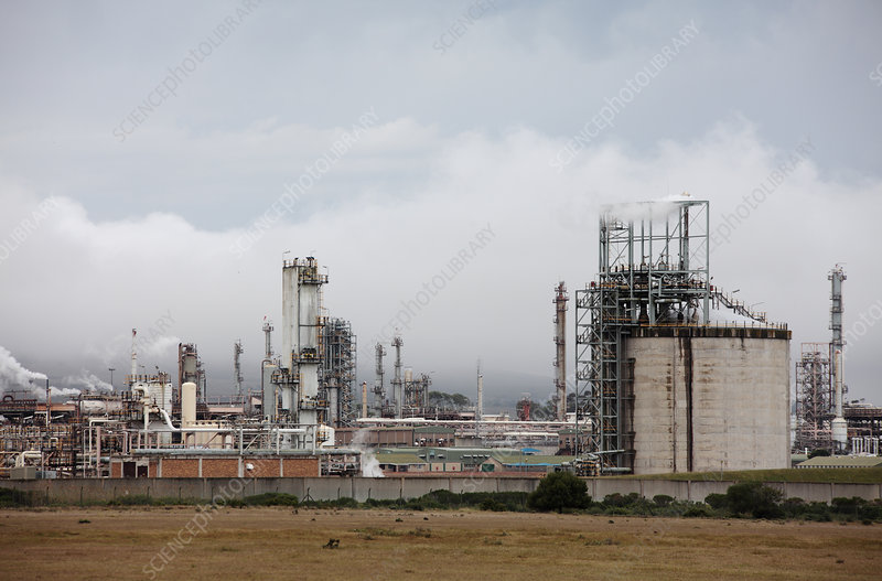 Gas to liquid refinery, South Africa