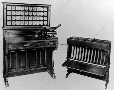 Tabulator and sorter for 1900 US Census