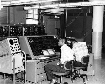 UNIVAC computer for 1960 US Census