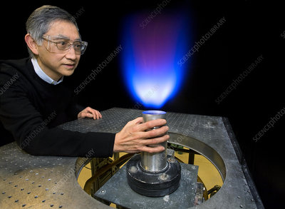 LSI flame for pollution research