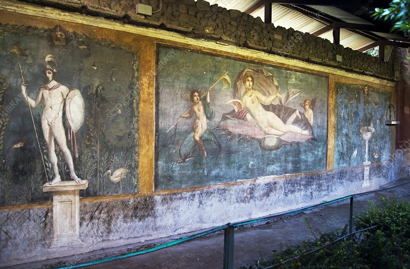 Venus painting in Pompeii.