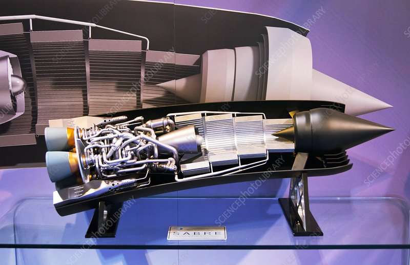SABRE spaceplane engine.