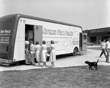 Atoms for Peace roadshow, 1957