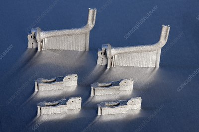 Laser sintering manufactured products