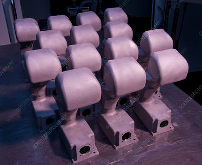 Sintering manufactured joysticks