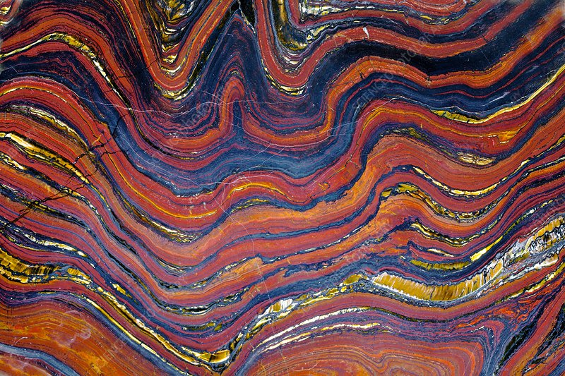Banded iron formation (BIF)