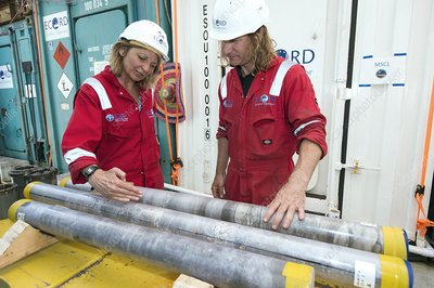Chicxulub Crater core samples research