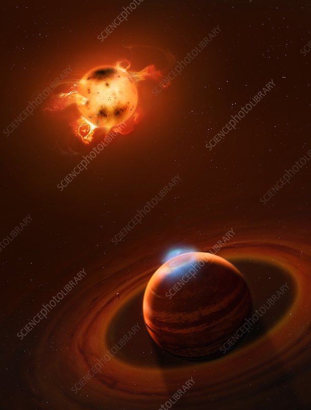 Hot Jupiter Orbiting T Taui Star