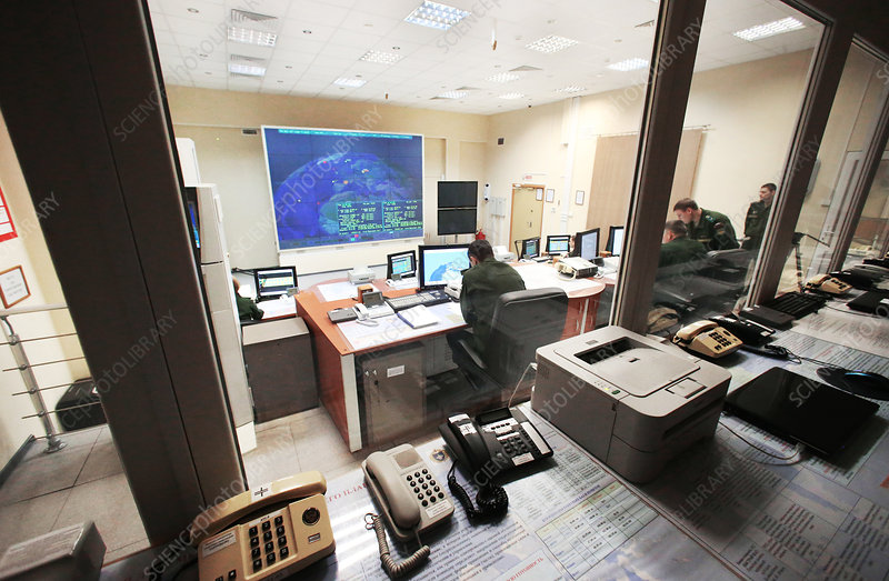 Radar operations room, Russia