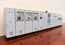 Hydroelectric power plant control units