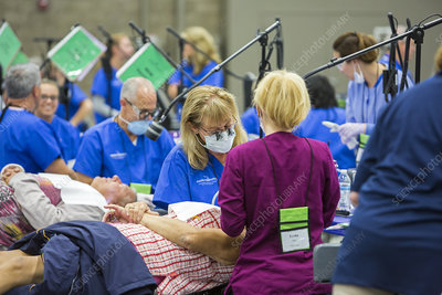 Mission of Mercy free dental clinic, USA