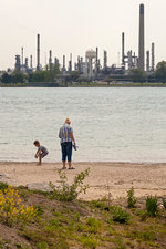 St Clair River oil pipelines, USA