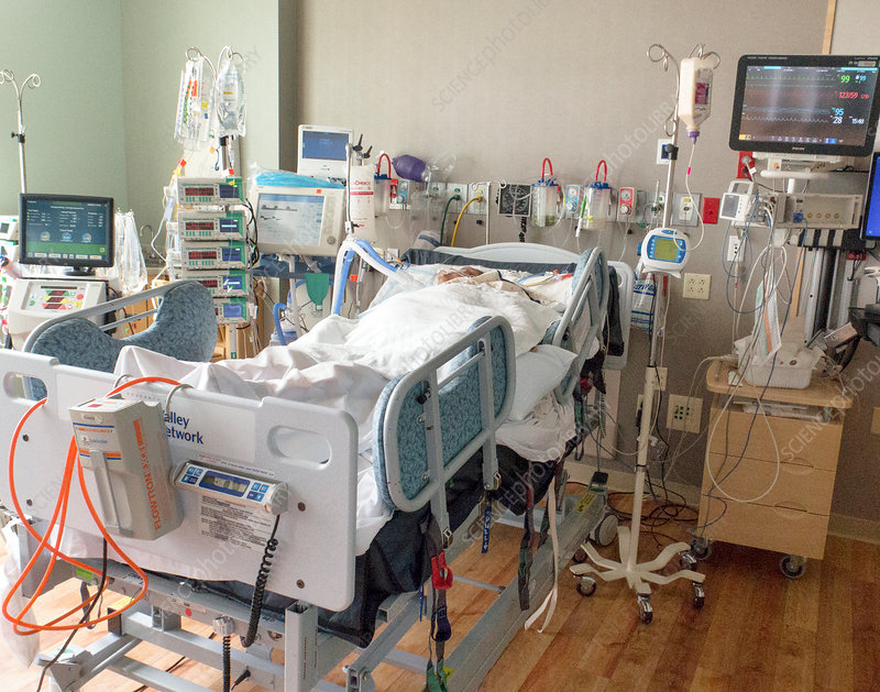 Renal patient on ventilator support