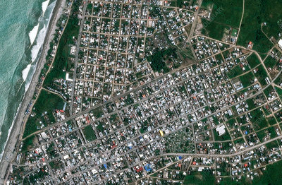 Town affected by 2016 Ecuador earthquake