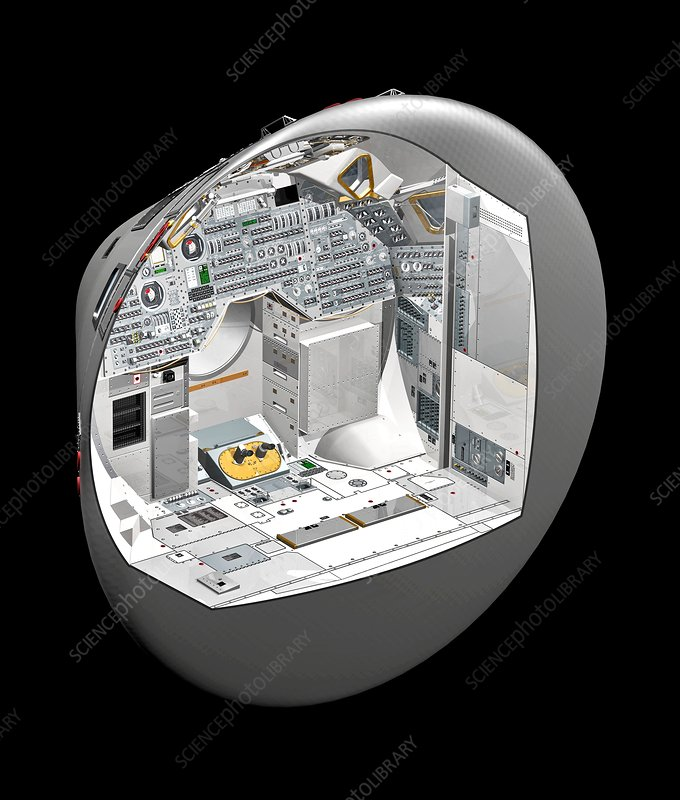 Apollo Command Module, illustration