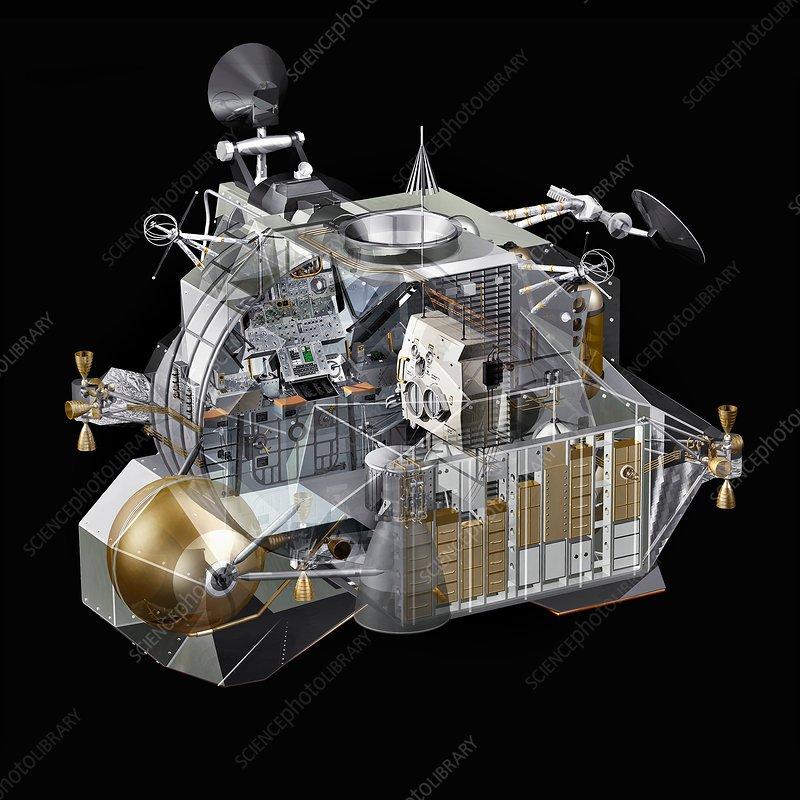 apollo lunar module design - photo #25