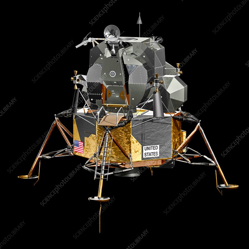 Apollo Lunar Module, illustration