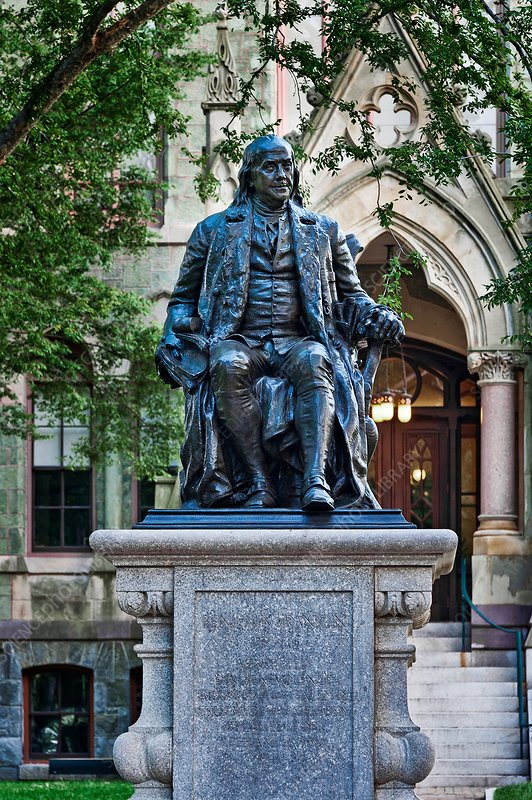Ben Franklin, University of Pennsylvania