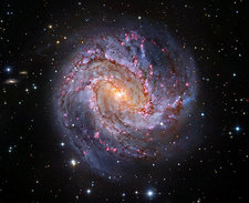 Southern Pinwheel Galaxy, composite image