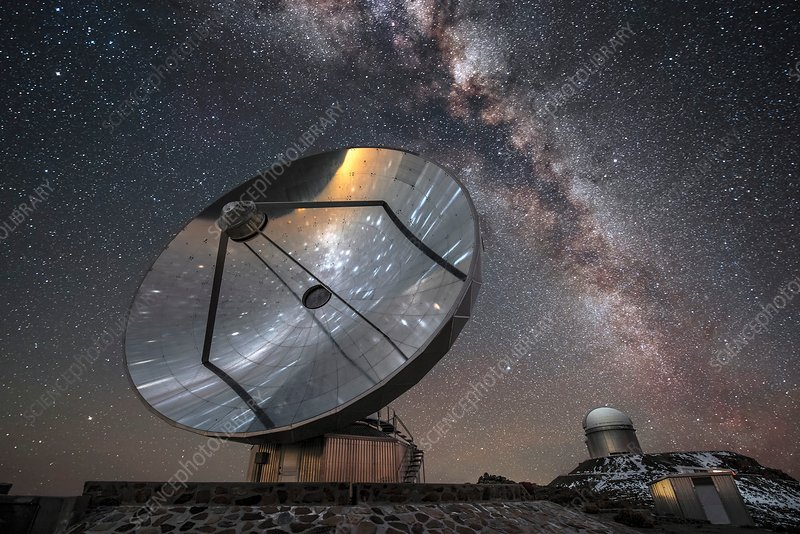 Milky Way and SEST telescope