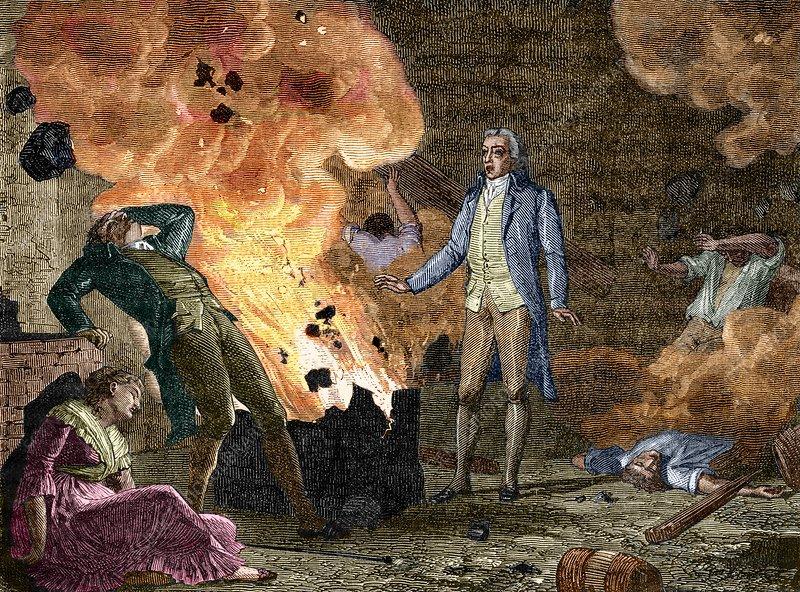 Berthollet's Gunpowder Experiment