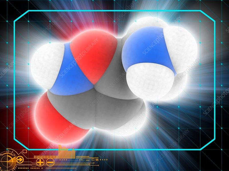 Muscimol drug molecule