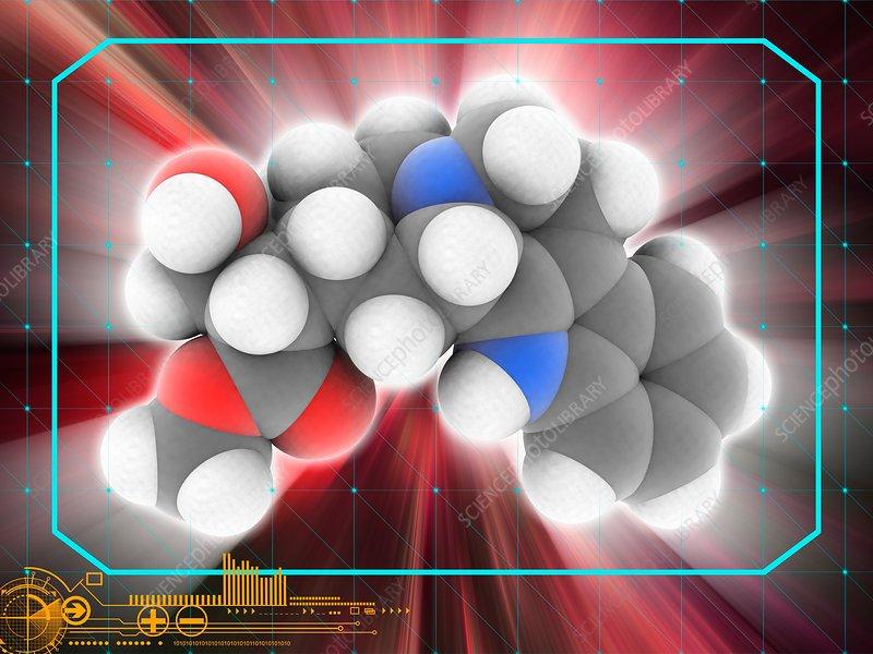 Rauwolscine drug molecule