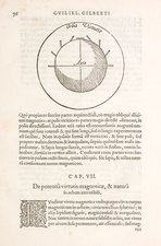 Gilbert's terrella 'Earth' magnet, 1600