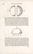 Gilbert's terrella 'Earth' magnets, 1600