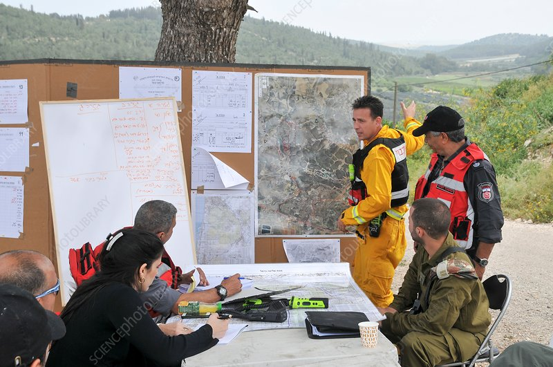 fire fighters Command and control