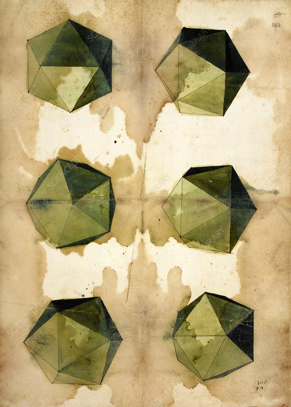 Study of polygons by Durer