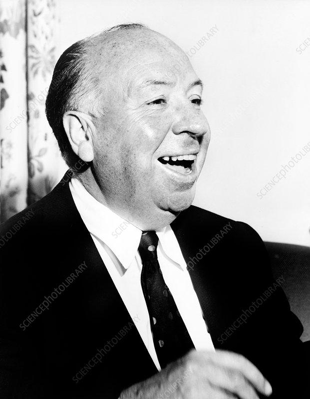 Alfred Hitchcock, British film director