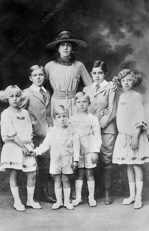 Haemophilia in the Spanish royal family