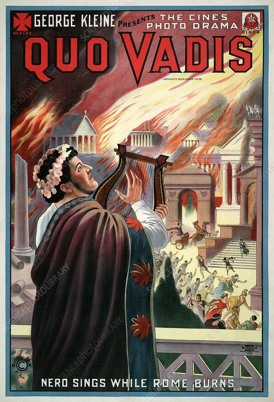 Quo Vadis film poster, 1913