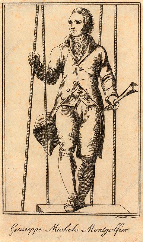 Joseph Montgolfier, French balloonist