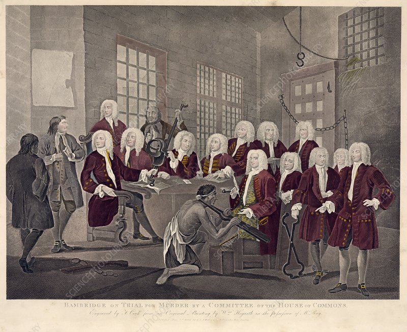 Bambridge and the Gaols Committee, 1729