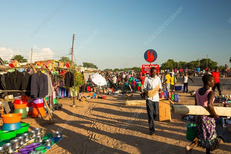 Market, Ckiwawa, Malawi