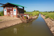 Irrigation water pumping station