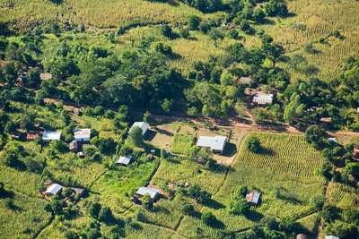 Deforested slopes, Malawi