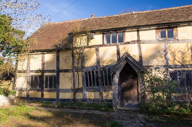 Tudor timber framed house, UK