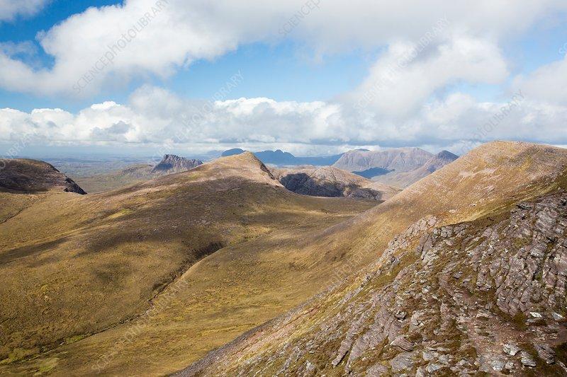 Ben Mor coigach, Scottish Highlands, UK
