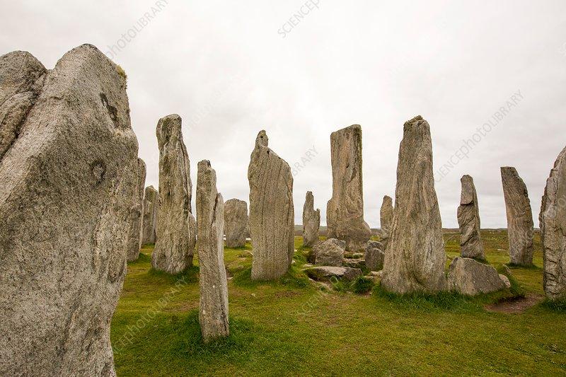 Callanish standing stones, Scotland, UK