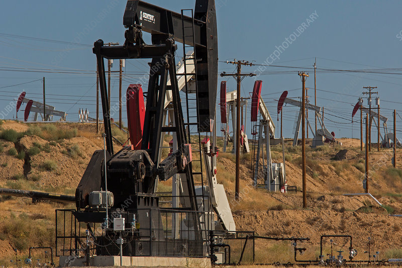 Kern River Oil Field, USA