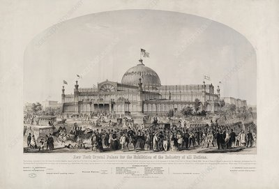 New York Crystal Palace, 1850s