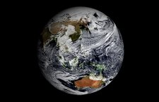 Earth's clouds simulation, GEOS-5