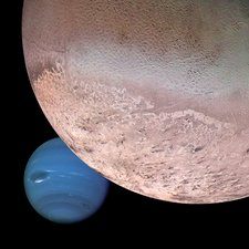 Triton and Neptune, montage image