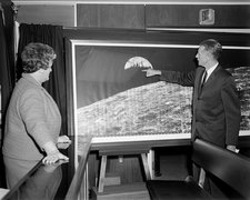 Earthrise display, December 1966